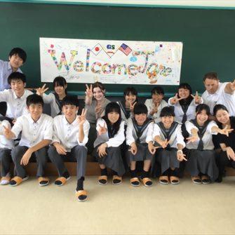 【国際交流】夏季短期留学生Janeさんが来校!