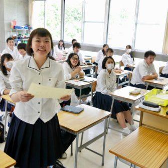 【行 事】1学期壮行式・表彰式および終業式